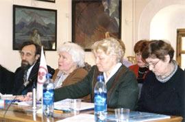 Совещание рериховских организаций г. Москва, февраль 2004 г.