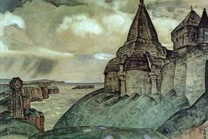 В Горловском художественном музее хранятся 28 произведений Николая Рериха, в том числе «Могила викинга». Фото из открытых источников