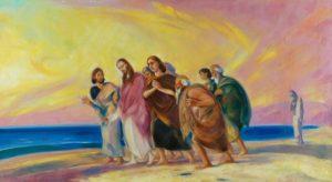 Христос с учениками (1)